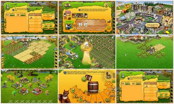 Скриншоты игры Farmerama