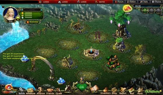 онлайн игра call of gods скриншоты