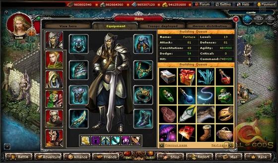 игра call of gods скриншоты