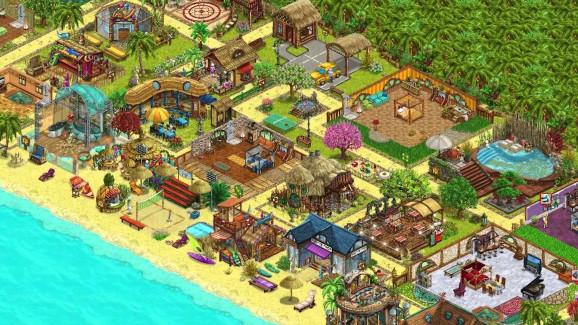 Развитый курорт