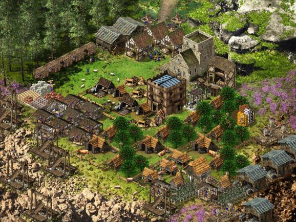Деревня сверху